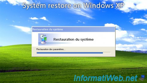 Windows XP - System restore