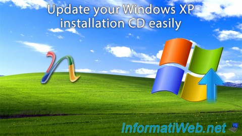 Windows XP - Update your install CD easily